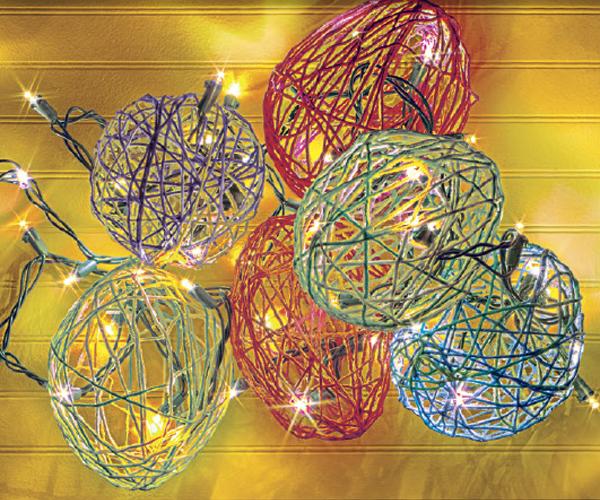 Yarn Egg Lights