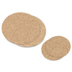 Hygloss Cork Coasters
