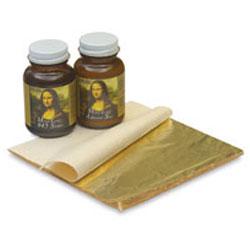 Mona Lisa Composition Gold Leaf Kit