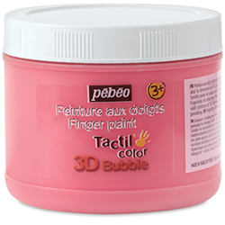 Pebeo Tactilcolor 3D Bubble Finger Paint