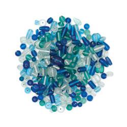 Rainbow Glass Beads