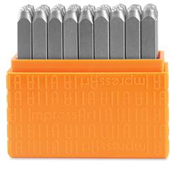 ImpressArt Letter and Number Stamp Sets