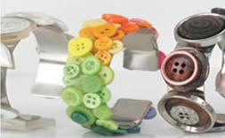 Buttons Bracelets