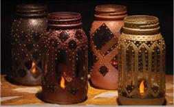 Manson jar Moroccan Lanters