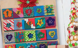 Mini Canvas Advent Calendar