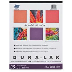 Grafix Dura-Lar Clear Acetate Alternative