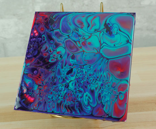 Paint Pouring With Golden Fluid Acrylics Project Ideas
