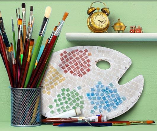 Mosaic Paint Palette