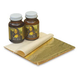 Mona Lisa Composition Gold Leaf Kit