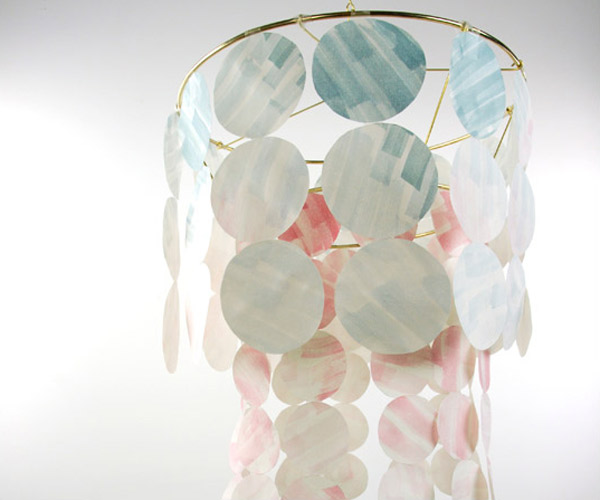 Watercolor Chandelier