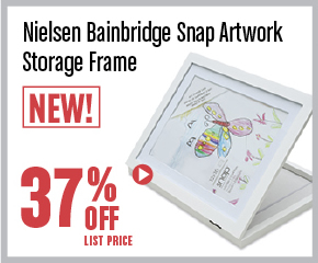 Nielsen Bainbridge Snap Artwork Storage Frame