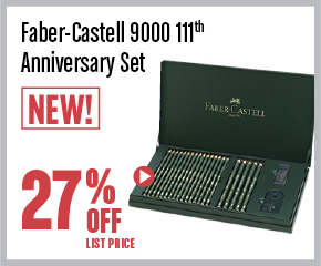 Faber-Castell 9000 111th Anniversary Pencils Set