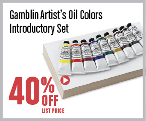Gamblin Artists Oil Colors Intro Set