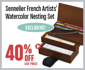 Sennelier French Artist Watercolor Set