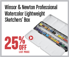Winsor and Newton Professional Watercolor Half Pan Set