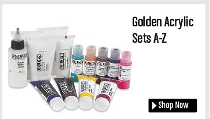 Golden Acrylic Sets A - Z, 14 Piece Starter Set