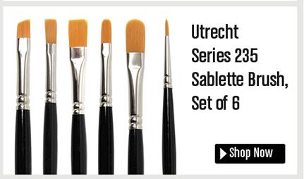 Utrecht Series 235 Sablette Brush Set of 6