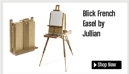 Blick French Easel by Jullian