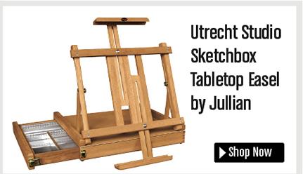 Utrecht Studio Sketchbox Tabletop Easel by Jullian