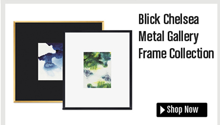 Blick Chelsea Metal Gallery Frame Collection