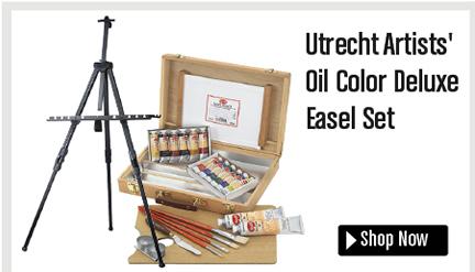 Utrecht Artists' Oil Color Deluxe Easel Set