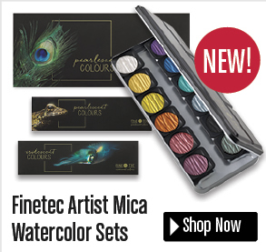Finetic Artist Mica Watercolor Set