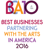 BCA10 BEST BUSINESSES PARTNERING WITH THE ARTS IN AMERICA 2016