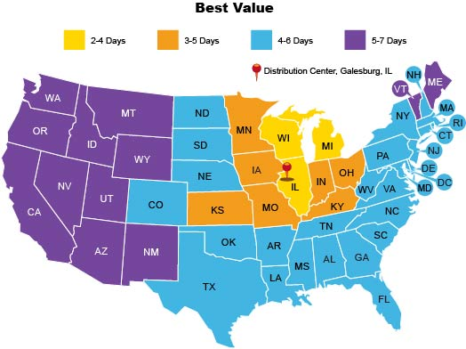 Us Best Value Map