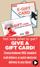 Gift Cards - Customer Service - BLICK art materials