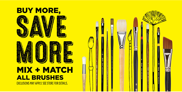 Buy More, Save More - Mix + Match All Brushes