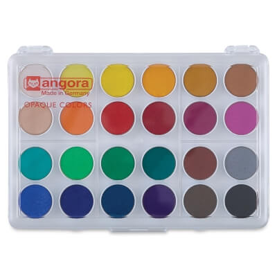 Angora Watercolor Pan Sets