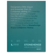 Stonehenge Aqua Watercolor Cold Press Blocks