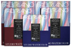 Fabriano Studio Watercolor Pads