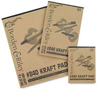 Borden & Riley #840 Kraft Paper Pads