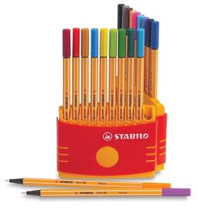 Stabilo Point 88 Fineliner Pens
