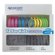 Westcott Soft Handle Scissors Teacher Pack