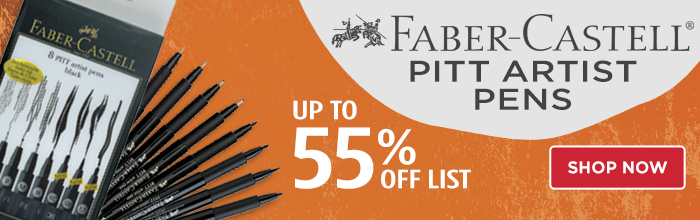 Featured Product: Faber-Castell Pitt Artist Pens and Sets