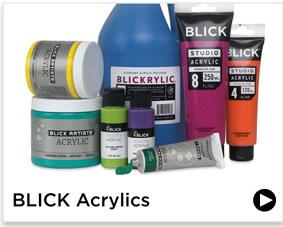 Blick Acrylics