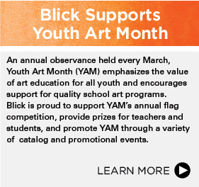 Blick Supports Youth Art Month