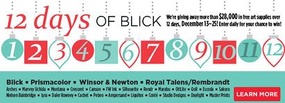 12 Days of Blick