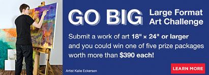 Large Format Art Challenge