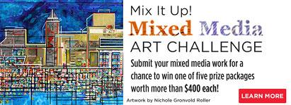 Mixed media Art Challenge