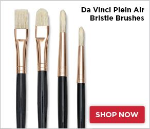 Da Vinci Plein Air Bristle Brushes