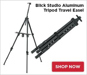 Blick Studio Aluminum Tripod Travel Easel