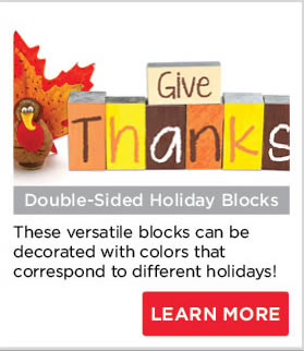 Double-Sided Holiday Blocks