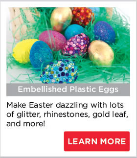 Embellished Plastic Eggs