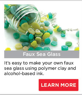 Faux Sea Glass