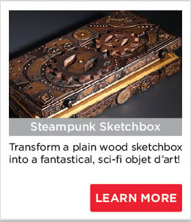 Steampunk Sketchbox