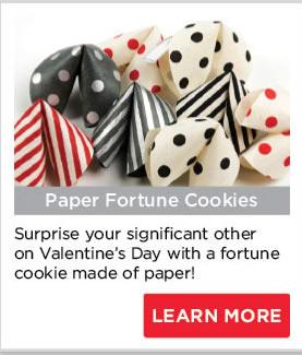 Paper Fortune Cookies