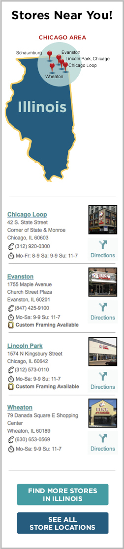 Chicago Stores - BLICK art materials